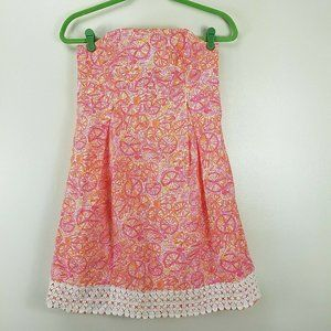 Lilly Pulitzer Betsey Hotty Pink Ten Speed Dress